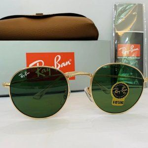 ✨Ray-Ban Classic Round Frame Green RB3447 50mm